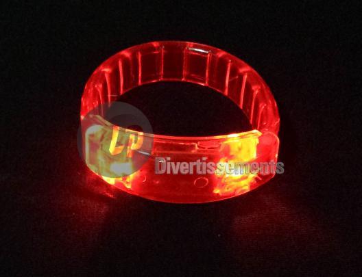 Bracelet Lumineux Rouge Bracelet Lumineux Led Plat