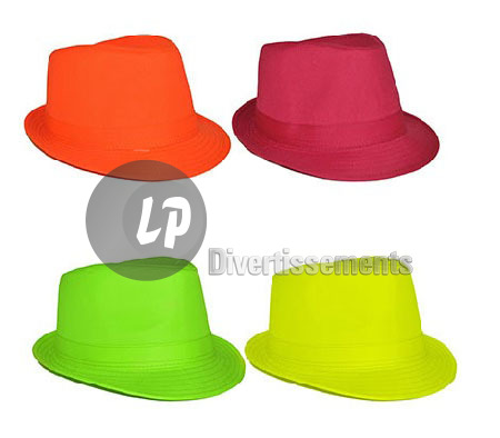 chapeau tribly fluo VERT