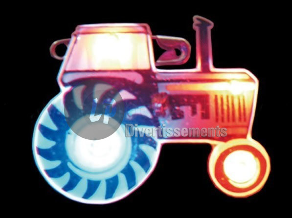 badge LED tracteur