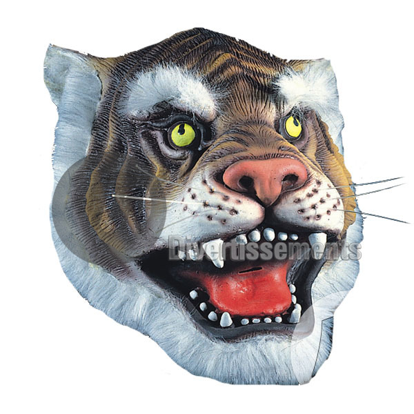masque latex tigre