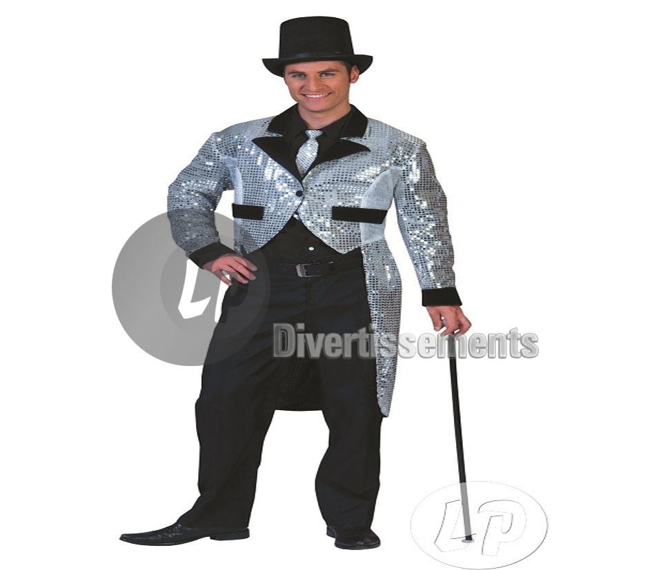 D guisement charleston homme grossiste import bracelets colliers et b tons fluo badges et - Costume homme annee 20 ...