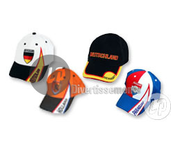 casquettes supporter nations