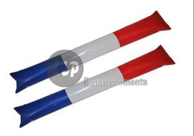 paire de batons Air Bang Tap Tap gonflables FRANCE