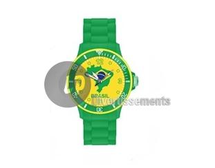 brazil watch<br>silicone gel