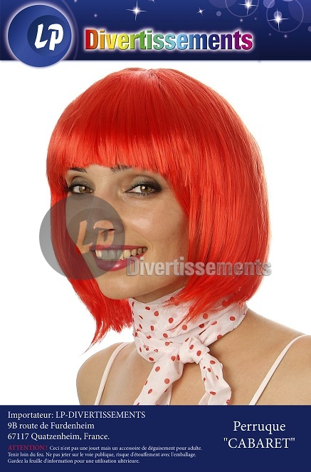 oranje pruik cabaret