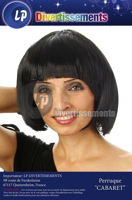 wig black cabaret