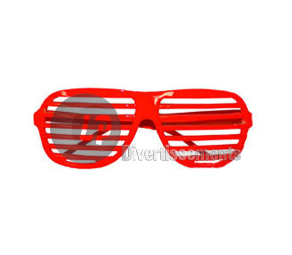 lunettes store FLUO NEON ROUGE