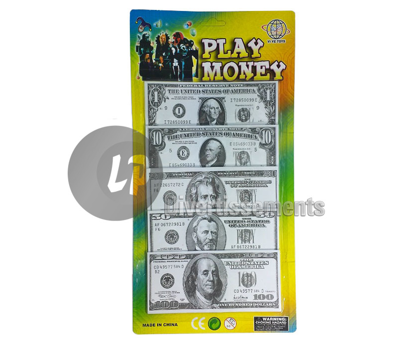 lot de 100 billets dollars