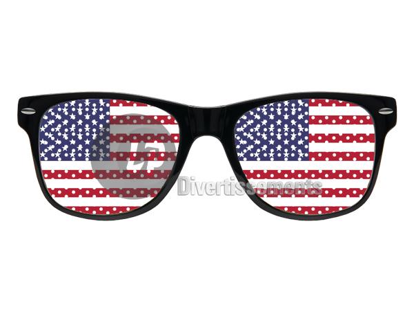 Rasterbrille, USA,<br>Vereinigte Staaten