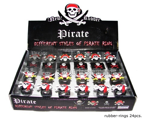 bague gel de pirate MIX