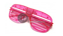 lunettes lumineuses stores 3 LEDs ROSE