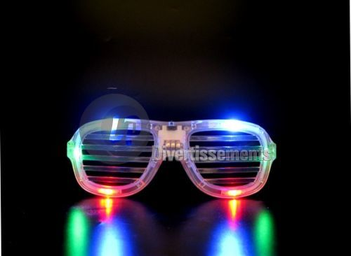 lunettes lumineuses stores MULTICOLORE
