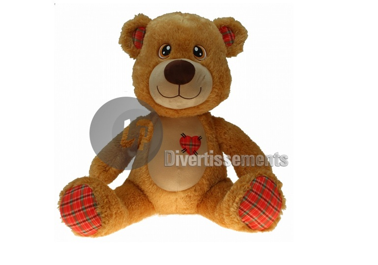"peluche ours ""Scotty"" 45cm"
