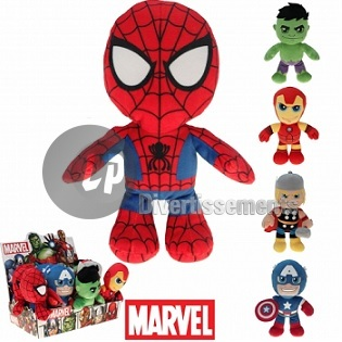 peluche Marvel™ Super héros MIX 22cm