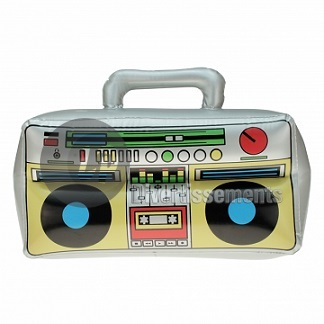 ghetto blaster gonflable 42x28cm