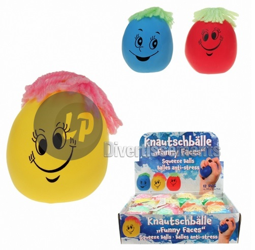 balle anti-stress monsieur patate MIX 9cm