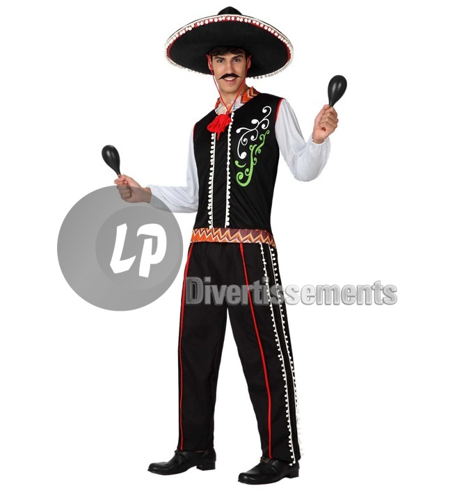 Mexican man<br>costume size 52/54