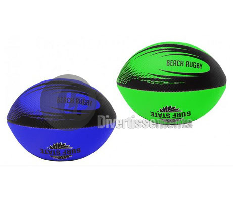 ballon beach rugby PVC 20cm MIX