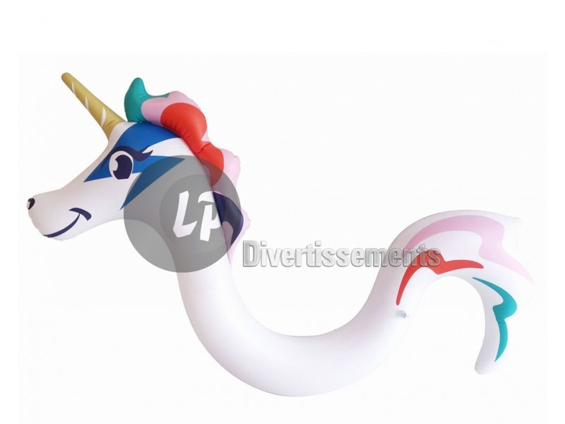 licorne gonflable chevauchable 1.45x1.22m
