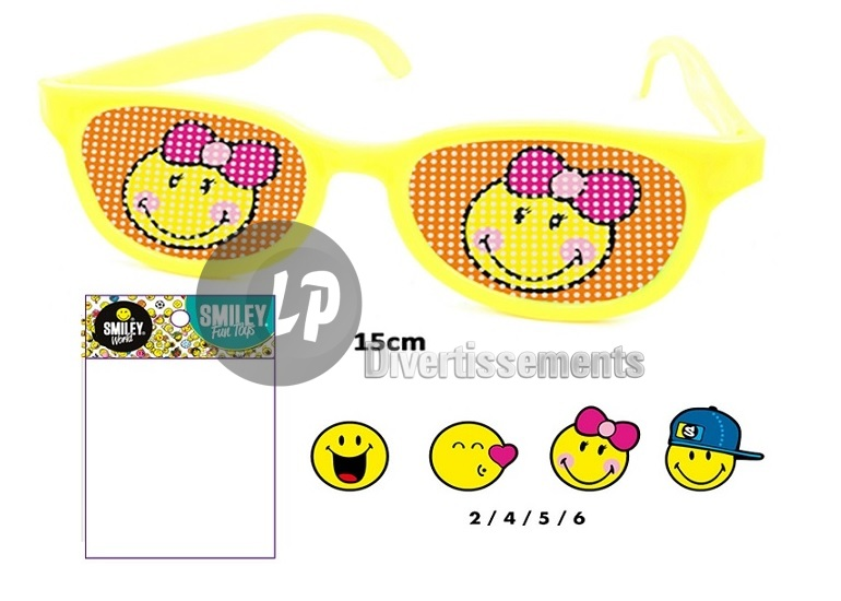 lunettes gag smiley MIX