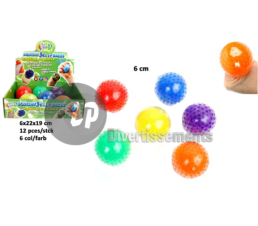 balle anti-stress Perles MIX 6cm