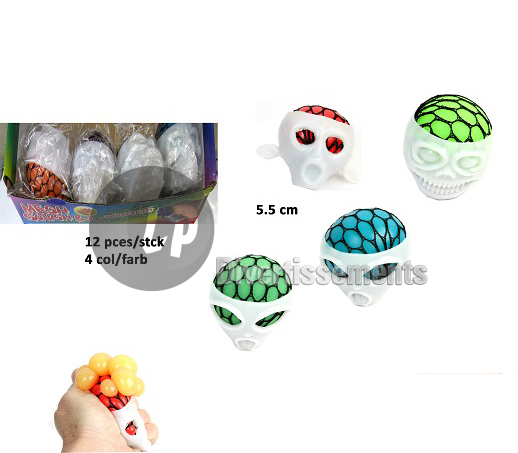 balle Quetschball alien MIX 5.5cm