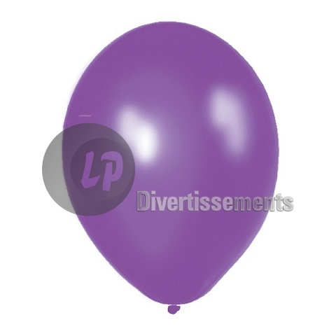ballon latex opaque VIOLET 29x40cm