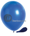 ballon latex opaque BLEU 29x40cm