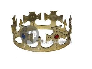 Krone mit Gold<br>eingelegt Kreuzpeaks