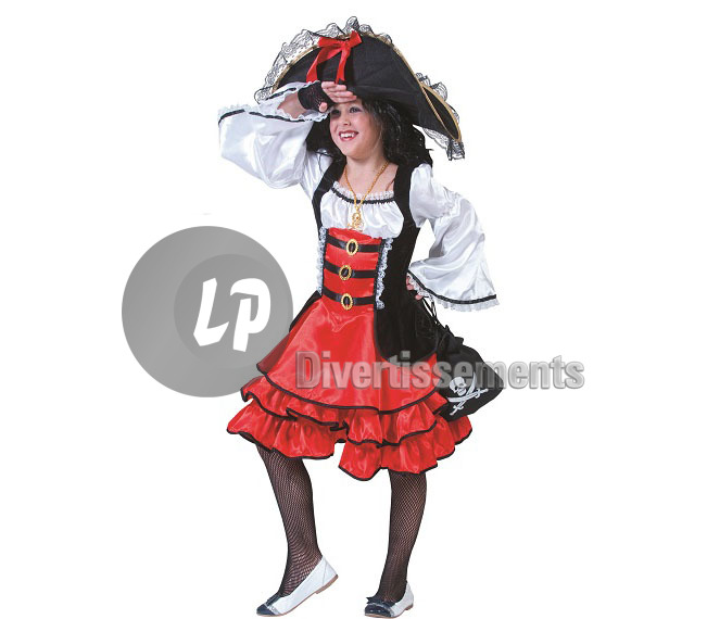 robe PIRATE Anne fille Taille 116cm