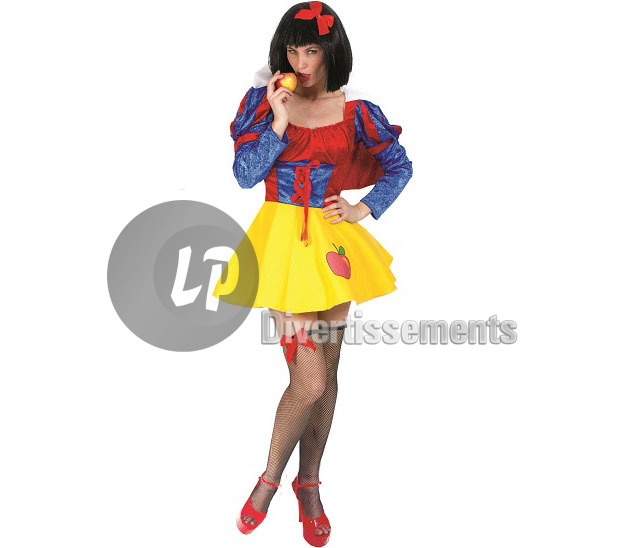 déguisement blanche neige SEXY femme Taille XL
