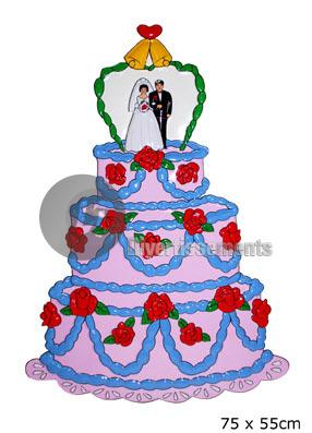 Panneau décoration gateau de mariage Destockage Grossiste