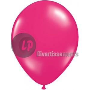 latex balloon<br> 29x40cm opaque<br>fuchsia pink