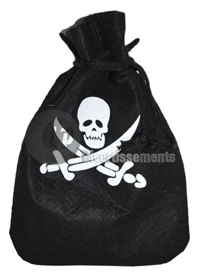 sac bourse de pirate 25cm