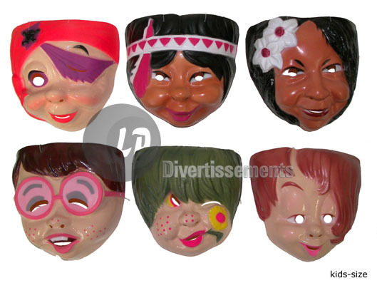 mask shell<br> characters for<br>children
