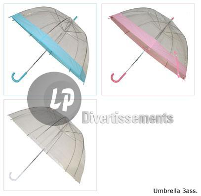 parapluie TRANSPARENT