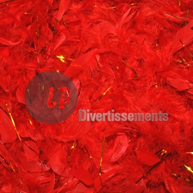 boa 50gr 1.90m rouge et or
