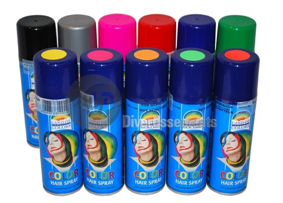 Bombe couleur cheveux colores