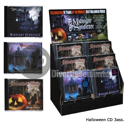 CD ambiances d'Halloween new