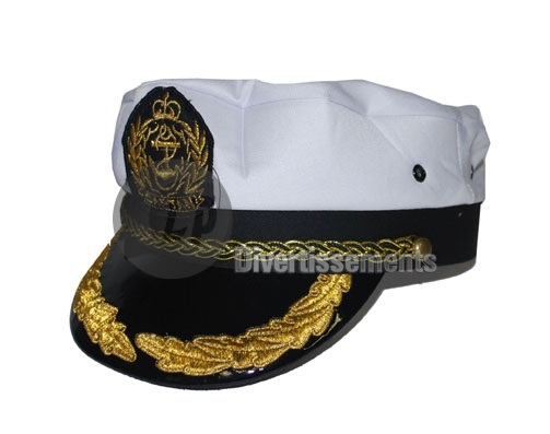 casquette de capitaine à ornements