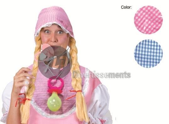 Baby Kit rosa<br> Schnuller<br>Jumbo-Größe