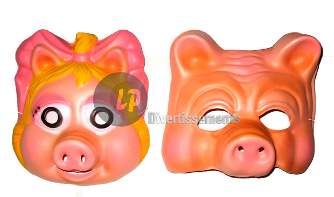 masque coque cochon MIX