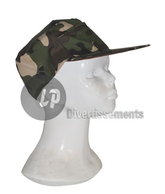 casquette militaire camouflage