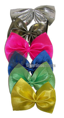 noeud papillon de clown GRAND 19cm MIX
