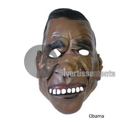 masque en latex Obama