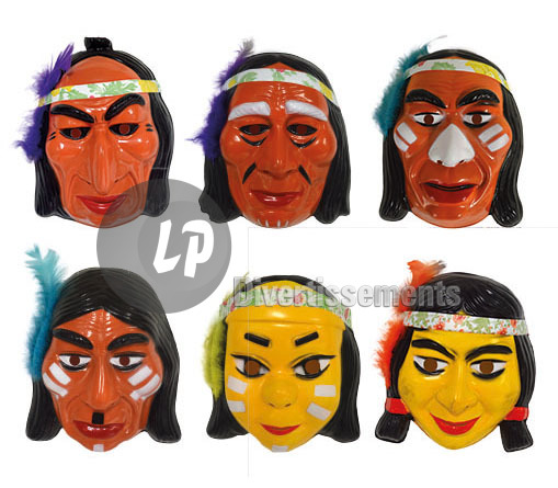 masque indien MIX