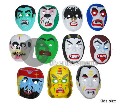 masque coque Halloween MIX enfant