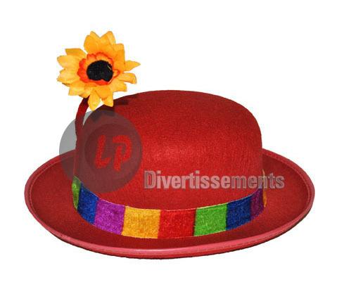 chapeaux de clown - grossiste import bracelets, colliers et bâtons