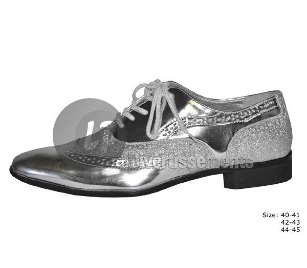 7d87b2a153d423 paire de chaussures homme ARGENT pointure 42-43