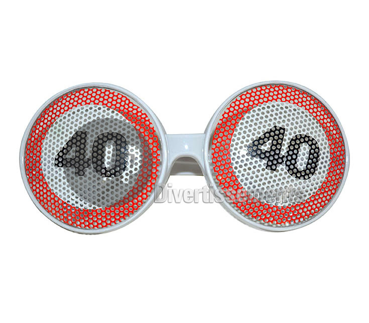 lunettes gag grille 40 ANS